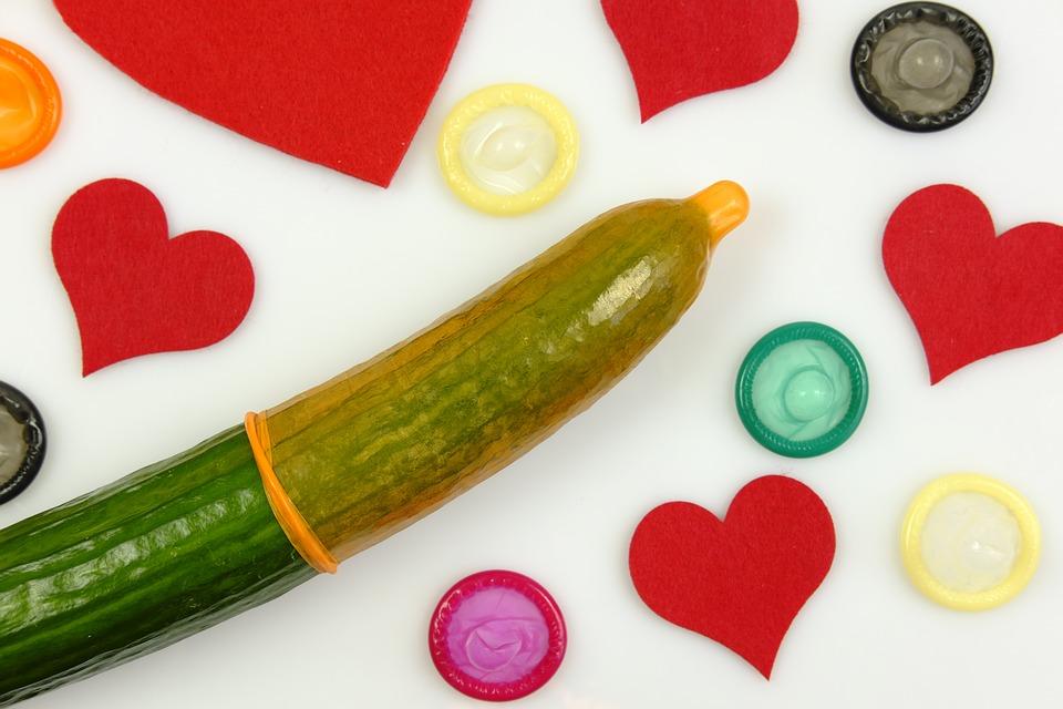 Cucumber Dildo with Condom | Cupid Mantra